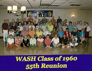 55 Year Reunion Group Photo